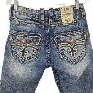 Rock Revival Dashaw Blue Denim Jeans Size 30
